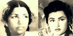Thumbnail image for Lata Mangeshkar vs Noorjehan