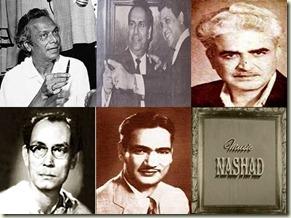 Naushad-SD Burman-OP Nayyar-Shankar Jaikishan-C Ramchandra-Nashad
