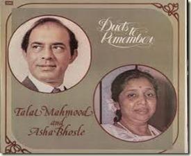 Talat Mahmood_Asha Bhosle