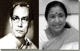 SD Burman & Asha Bhosle