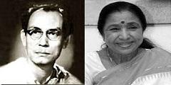 SD Burman and Asha Bhosle