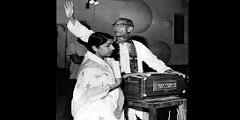 SD Burman and Lata Mangeshkar