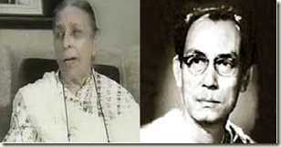 Shamshad Begum and SD Burman
