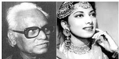 Anil Biswas and Suraiya