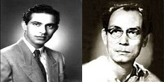 Talat Mahmood and SD Burman