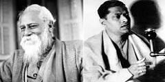 Rabindranath Tagore and Pankaj Mullick