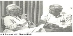 Anil Biswas with Sharad Dutt