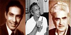 Talat Mahmood, Naushad and C Ramchandra