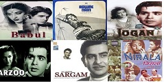 Babul, Bawre Nain, Jogan, Arzoo, Sangam, Nirala