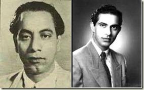 Ghulam Mohammad and Talat Mahmood