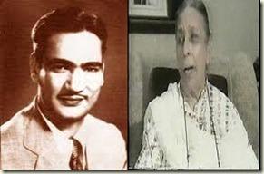 OP Nayyar and Shamshad Begum