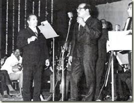 Shankar-Jaikishan with Manna Dey