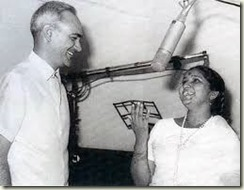 OP Nayyar and Asha Bhosle