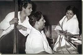 Shankar-Jaikishan with Lata Mangeshkar