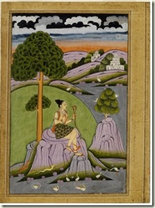 Asavari Ragini, courtesy @Victoria & Albert Museum, London