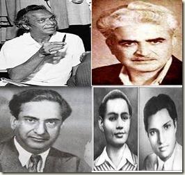 Naushad_C Ramchandra_Ghulam Haider_Husnlal-Bhagatram