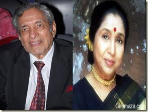 Ravi and Asha Bhosle
