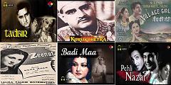 Best films of 1945_Tadbir-Kurukshetra-Village Girl-Zeenat-Badi Ma-Pahli Nazar